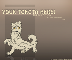 Tokotas - puppy YCH for sale/auction.  [CLOSED] by Luxsae