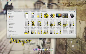 +Danger Theme for IconPackager by SophiaCustomize