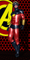 Captain Mar-Vell of the Kree by Sailmaster-Seion