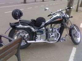 my motorcyle by halconrojo2006
