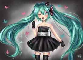 Magnet Miku by HappySmileGear