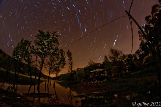 Star Trails by GilliW