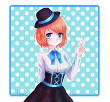 {Waist-up Raffle price} Alice {Speedpaint} by Leniuu