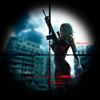 Sniper Wolf by alltheoriginal by poseraddicts