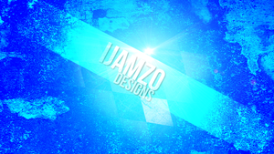 My Blue Desktop by iJamZo