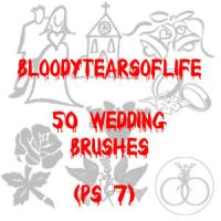 50 Wedding Brushes - PS 7 by BloodyTearsOfLife
