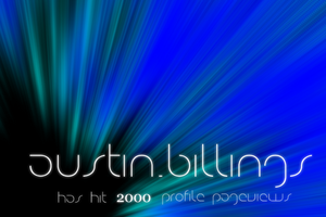 2000 Pageviews :D by Austin8159