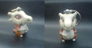 Cubone toy by WhippetWild