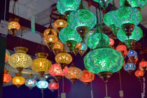 Colourful Lamps 031442xcf by meriwani