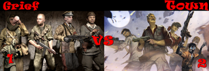 Grief Town Black ops 1 VS Black ops 2 Zombies by Gabrielle3Richtofen