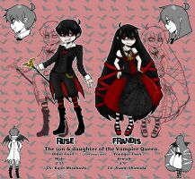 OC sheet- Vampire Twins by SoloAzume