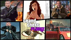Grand Theft Plamz wallpaper by Griffo619