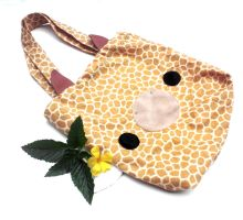 Giraffe Tote by CosmiCosmos