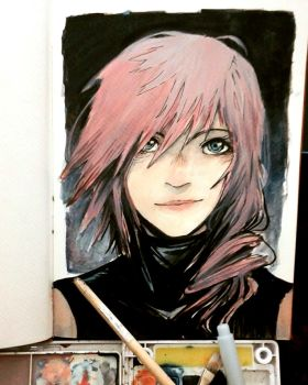 Water Color Lightning by WKWKWKKWKWK