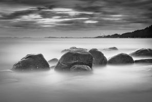 White Rock Beach I by palmbook