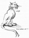Sabre-toothed cat by Anutwyll