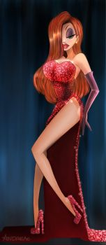 Jessica Rabbit by ANDREAc