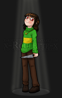 It's me, Chara. by x-Roulette-x