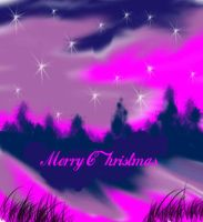 Purple Mountain Christmas by raven258