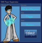 RockinRaymo TOME Player Registration by BillyBCreationz
