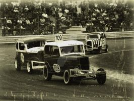 Retro F2 Stock Cars @ Ipswich by Petrol-Head-Images
