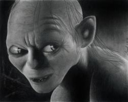 Gollum by marker21