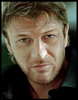 Sean Bean Portrait by Sheridan-J