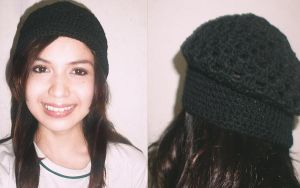Crocheted Beret Hat (fail) by Katerie
