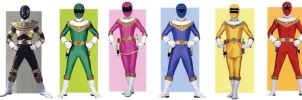 Zeo Power Rangers by planeteer1988