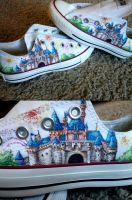 Disneyland Shoes by KristynJanelle