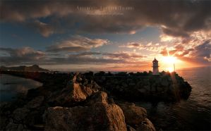 Andenes Lighthouse by Stridsberg