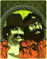 Cheech and Chong by jnusjnus