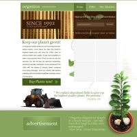 Organic web design by Kip0130