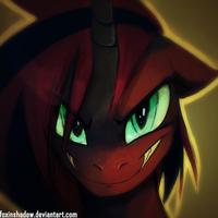friendly smirk by FoxInShadow