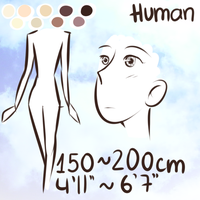 {EO} Species Reference: Human by Dragoncookie