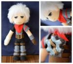 The Kid - Bastion - Commission Plush by FlyingRabbitMonkey