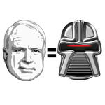 McCain:Cylon? by righteousred
