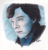 Sherlock - A Study In Blue by SarahFriesen