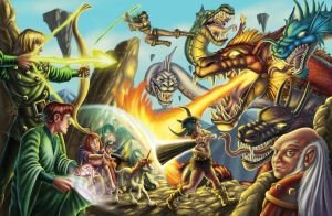 80's Dungeons and Dragons Cartoon by Abramelin
