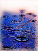 Water Droplets by johnwickart