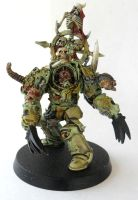 Chaos Lord of Nurgle by Ninestar