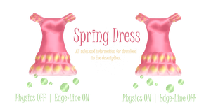 LAT Spring Dress + Download by KnifeHappyPsychopath