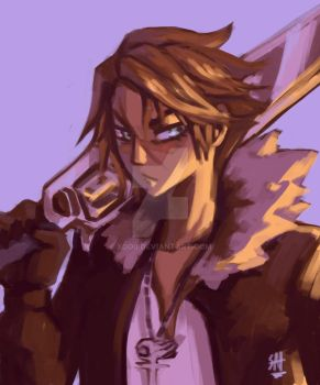 Squall leonheart by XOD0