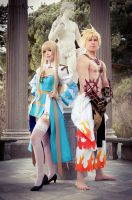 Ragnarok Online - Archbishop and Shura by Calssara