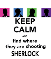 Keep calm Sherlock by remvsg