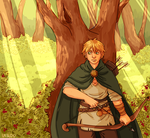 Hetalia | Deep in the forest (Redrawn) by Lazorite