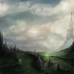 Quick landscape by Northfarthing