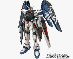 Basic Freedom Gundam by sandrum