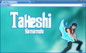 KHR: Takeshi Yamaoto Google Chrome Theme by yohohotralala