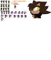 Soulex Mode Chris Sprites by christopherberry1